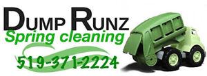 We do dump runz