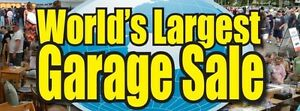 WORLDS LARGEST GARAGE SALE