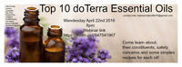 Essential Oils - Top 10 webinar