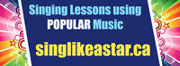 PRIVATE SINGING LESSONS with Sing Like A STAR Studios