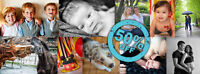 50% Off Photography Portrait Sessions Booked Before January