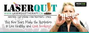 Laserquit is in Fort St John!! Quit smoking TODAY!