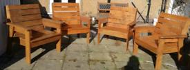 Handmade Garden Chairs