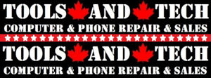 Computer and Phone Repair/Sales - Tools and Tech Guelph