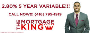 2.80%- Call The Mortgage King! - Harpreet Singh - (416) 795-1919
