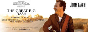 Tickets for The Great Big Outdoor Bash w/ Jimmy Rankin