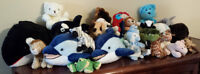 STUFFED ANIMALS - LIKE NEW COND–LOT ONLY $19 ROCK BOTTOM PRICE!!