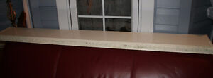 ANTIQUE FIREPLACE MANTEL/BOOK SHELF