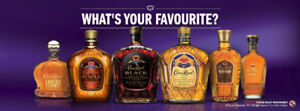 Crown Royal whisky whiskey items