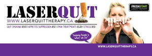 Laserquit is coming to you!! Quit smoking!