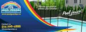 REMOVABLE POOL SAFETY FENCE : POOL GUARD