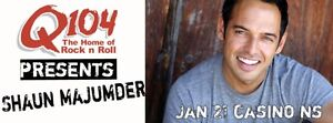 Two Tickets Shaun Majumder Sat Jan 21 Casino Sold Out Show