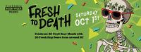Fresh To Death - Beer Festival Volunteers Needed - Oct 1st