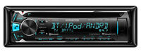 Kenwood eXcelon KDC-X399 In-Dash Receiver w Built-In Bluetooth!
