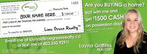 ATTENTION Home Buyers! $1500*CASH BACK when you purchase a home!