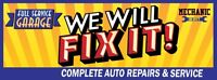 automotive mechanic required! **80 guaranteed contracts!**
