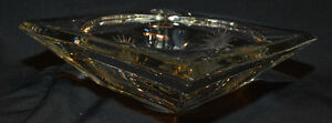 Crystal candy/coffee table dish Kitchener / Waterloo Kitchener Area image 4