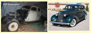 1937 Buick Special 8 for restore