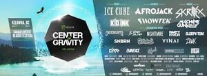 CENTER OF GRAVITY 2016 TICKETS