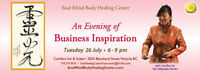 An Evening of Business Inspiration