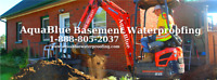 Foundation Epoxy Crack Repair 1-888-805-2037 Wet Leaky Basement