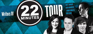 The Writers of 22 minutes comedy tour