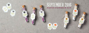 NEW Paper Pumpkin Kit - Great for Halloween Treats and more