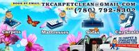 TK CARPET&UPHOLSTERY CLEANING(780)792-8302