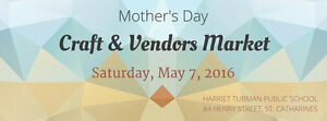 May 7th, Harriet Tubman Public School Mother's Day Market