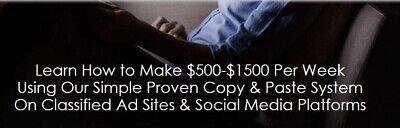 Instant Cash Solution Make Money Turnkey Internet Business Website For Sale