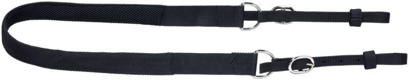 English Saddle Breast strap - Elastic Ends - Breathable Compressing Mesh