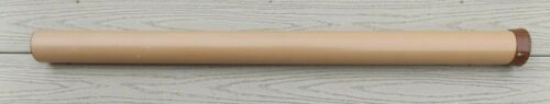 "Vintage BROWNING SILAFLEX PVC Fly Rod Tube 38"" Hard Case ONLY, NO ROD plastic"