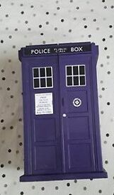 doctor who police box card holder