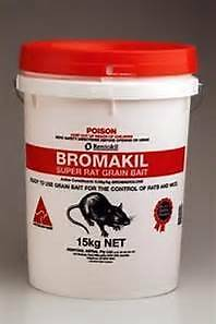 15KG bucket of bromakil rat and mouse bait. Magill Campbelltown Area Preview