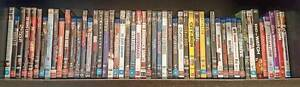 DVD / Blu-Ray Collection Lot Action Comedy Drama Thriller Crime Marrickville Marrickville Area Preview