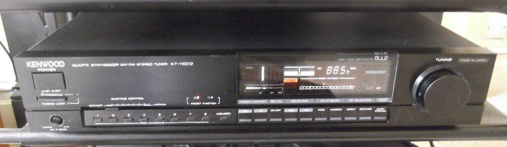 Kenwood KT-1100D top-of-the-range AM/FM tuner