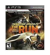 Need for Speed The Run PS3 New