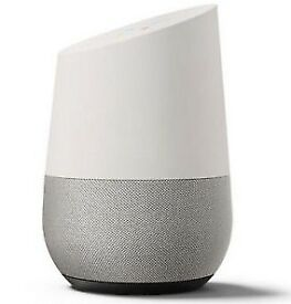 Brand New Unboxed Google Home - For Sale. This is a gift but we already have smart speakers.