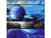 Joblot x5 TANGERINE DREAM CD's 220 Volt Live, Dream Encores, Tournado, Valentine Wheels, Madcap's...