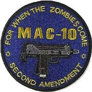 Zombie Velcro Patches