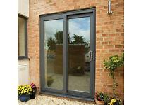 *New* Anthracite UPVC patio door & window