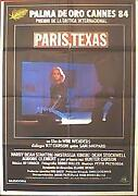 Paris Texas Poster