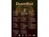 Day ticket for Friday of Desertfest, feat. Slo-Burn, Zombi & Picturebooks - access to all venues