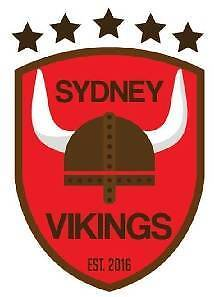 Sydney Vikings is looking for soccer/football players Sydney City Inner Sydney Preview
