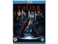 Thor, Avengers assemble, Superman etc BLU-RAYS