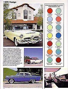 1955 Dodge + Convertible Article - Must See !! Custom Royal Lancer + Royal