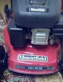 MOUNTFIELD S461 R PD/ES 46cm LAWN MOWER..ELECTRIC START SELF-PROPELLED..PETROL....