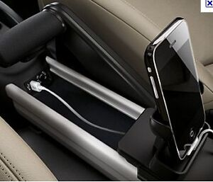 support iphone rail central mini cooper countryman paceman genuine holder s r60 ebay. Black Bedroom Furniture Sets. Home Design Ideas