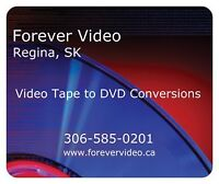 $15  Video Tape to DVD - Forever Video