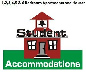 1,2 ,3,4, 5 and 6  Br Apartments  and houses avaialble